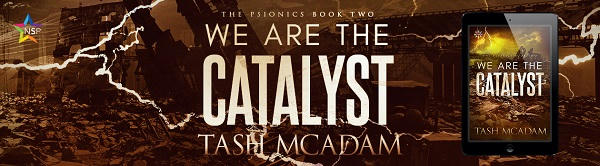 Tash McAdam - We Are The Catalyst NineStar Banner