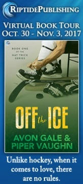 Avon Gale and Piper Vaughn - Off The Ice TourBadge