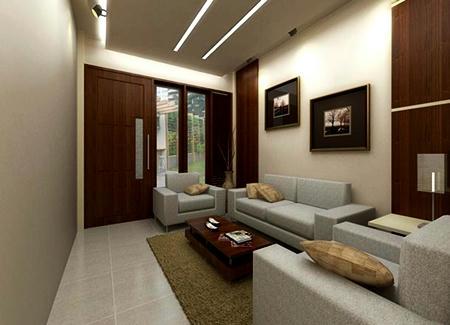 Contoh Ruang Keluarga Sempit Dan Mewah Creo House