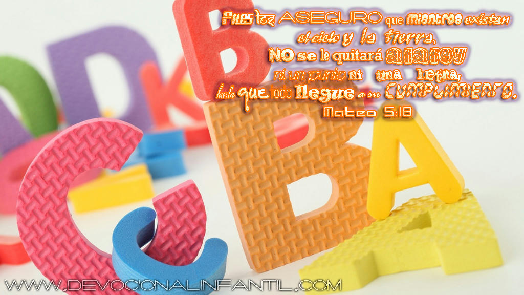 No se le quitara a la ley – Wallpaper