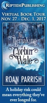 Roan Parrish - The Remaking of Corbin Wale TourBadges