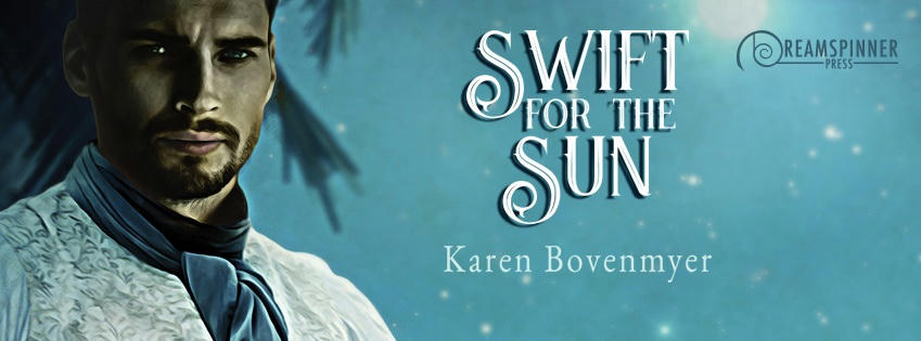 Karen Bovenmyer - Swift for the Sun Banner