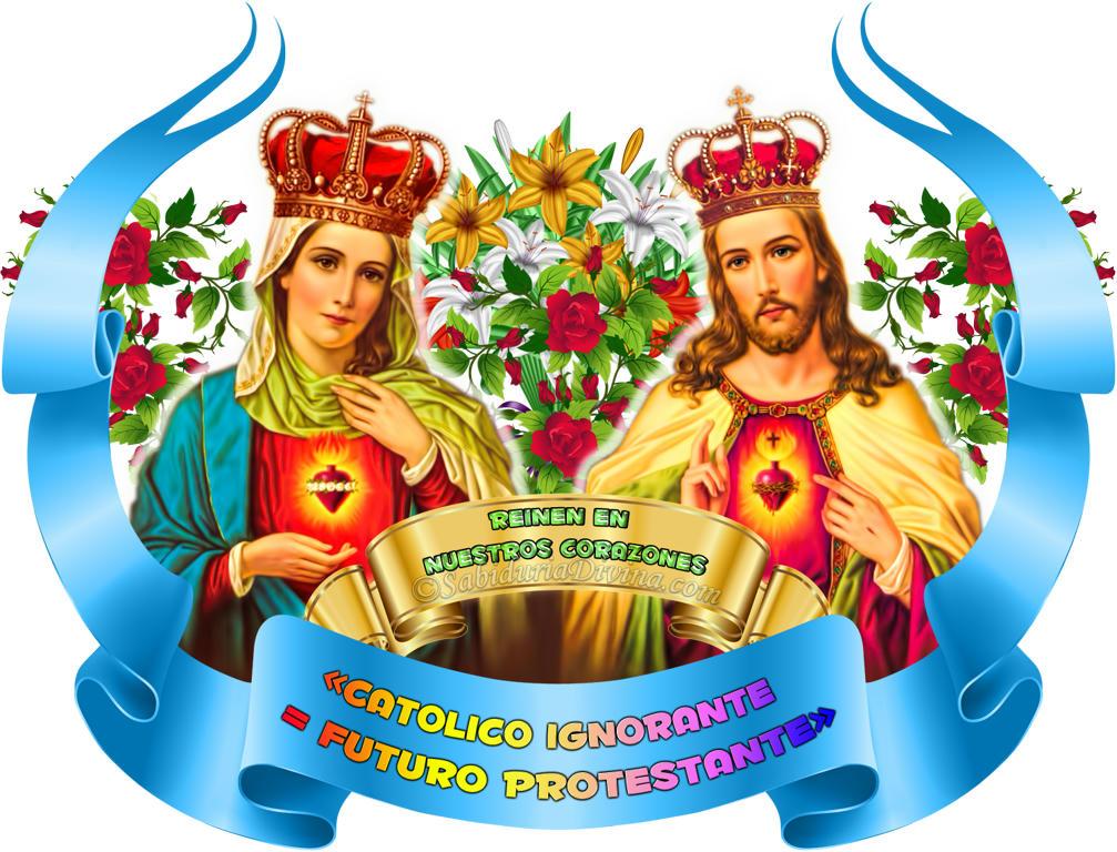 corazones de Jesus y Maria