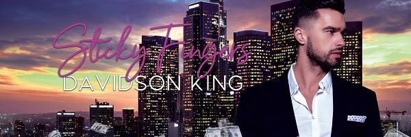 Davidson King - Sticky Fingers Banner