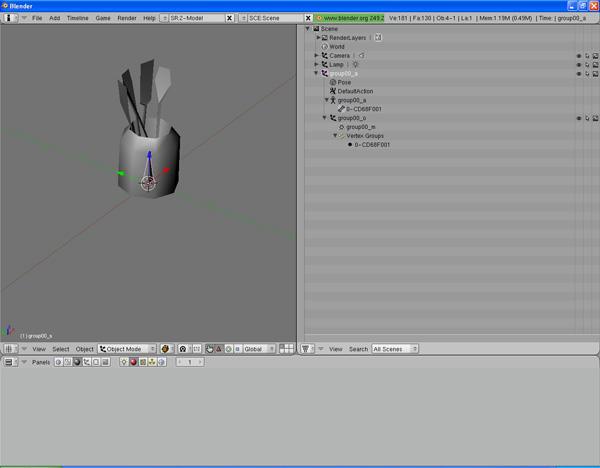 [Apprenti] [Blender 2.4 à 2.49] Créer et intégrer son premier mesh de A à Z / 8-Remplacement du mesh d'origine dans Blender Koehj2rxekujucp6g