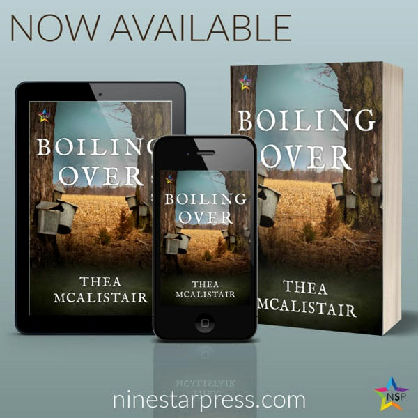 Thea McAlistair - Boiling Over Now Available