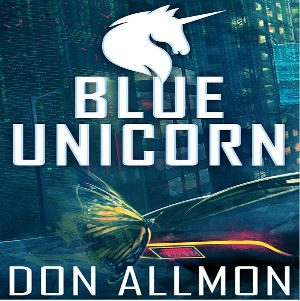 Don Allmon - Blue Unicorn Series Square