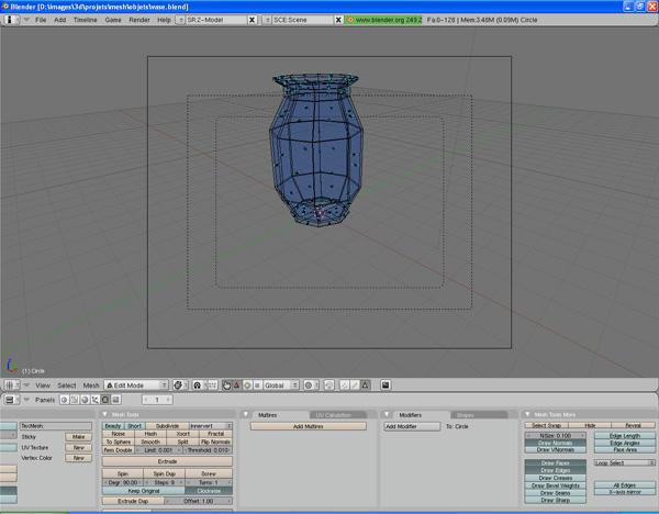 [Intermédiaire] [Blender 2.4 à 2.49] Créer et intégrer son premier mesh de A à Z : 4 - Modélisation d'un vase 18ddqujr9a4qdpb6g