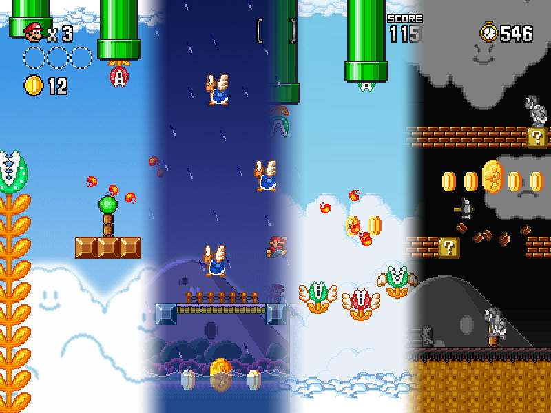 World 10 of Super Mario Forever X - Episodes - PGE Forums