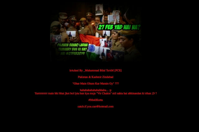 Delhi BJP Website Hacked-Anti-Modi Messages Posted