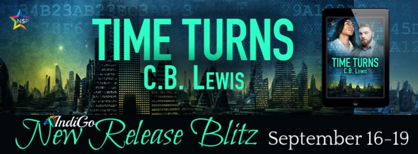 C.B. Lewis - Time Turns RB Banner