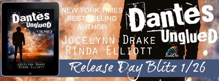 Jocelynn Drake and Rinda Elliott - Dantes Unglued Blitz Banner