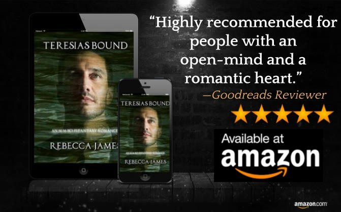 Rebecca James - Teresias Bound Review Graphic