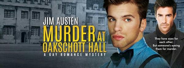 Jim Austen - Murder At Oakschott Hall Banner s