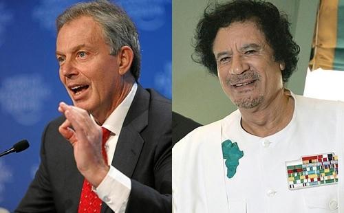 Primer-Ministro-Tony-Blair-y-el-líder-libio-Muammar-Gaddafi