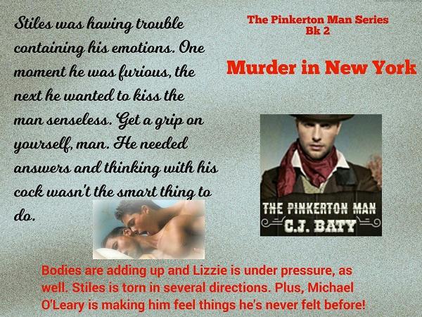 C.J. Baty - Murder in New York Promo 01