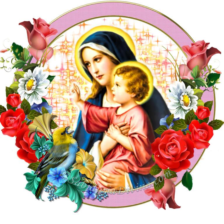 Virgen Santa con Jesus