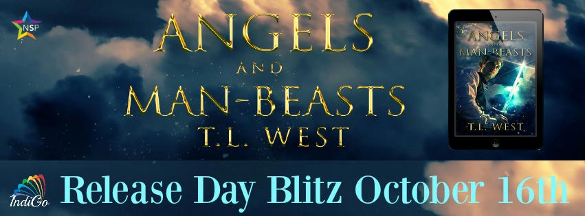 T.L. West - Angels and Man-Beasts Blitz Banner