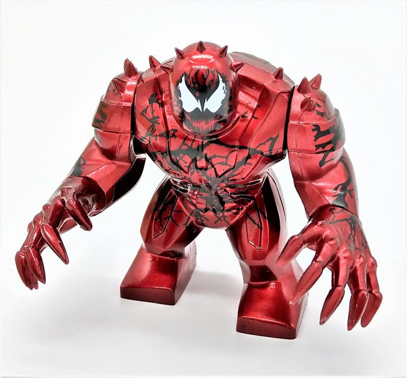 Smirking Marvel Comics Venompool Block Figure
