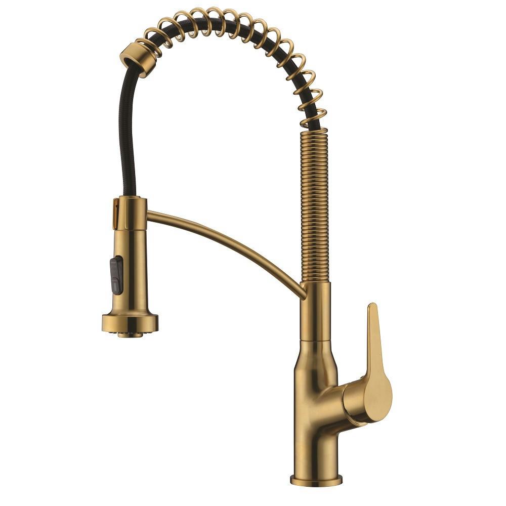 AB50 3777MAG Kitchen Faucet, Matte Gold
