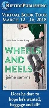Jaime Samms - Wheels and Heels TourBadge