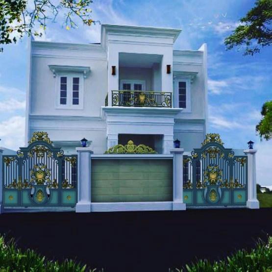 480 Koleksi Gambar Rumah Lantai 2 Gaya Klasik HD Terbaru
