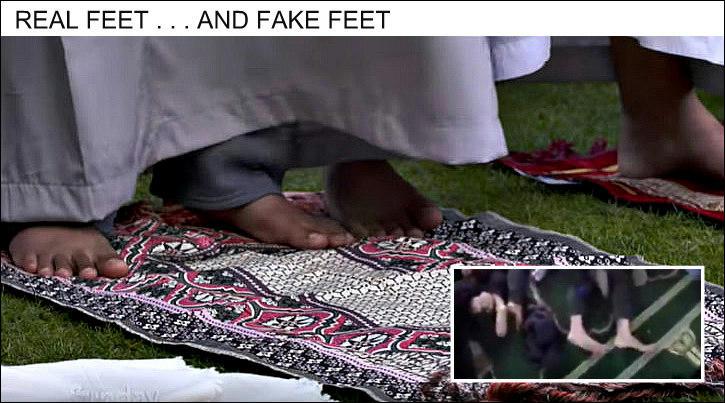 Comparison of feet