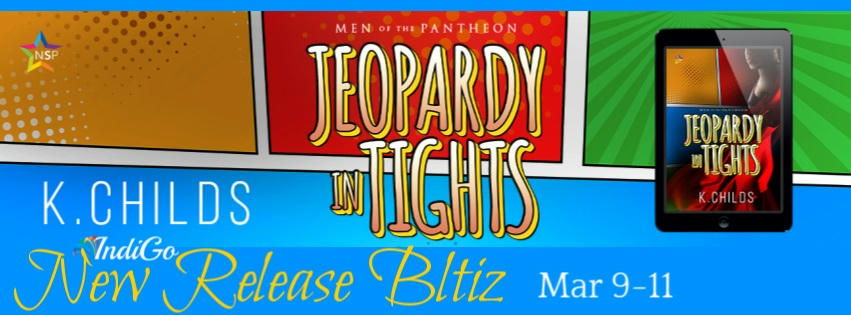 K. Childs - Jeopardy in Tights RB Banner