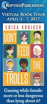 Erica Kudisch - Don't Feed The Trolls TourBadge
