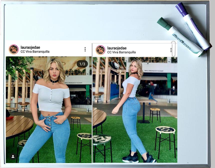 Modelo Laura Ojeda acusa a su ex novio de brutal agresión