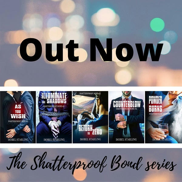 Isobel Starling - Shatterproof Bond series Promo