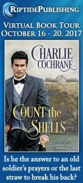 Charlie Cochrane - Count the Shells TourBadge
