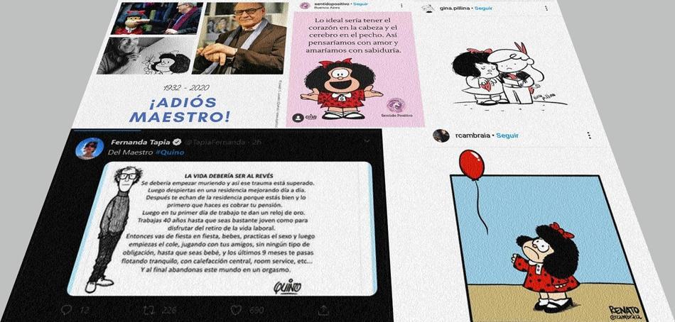 La tristeza se apodera de Internet por muerte de Quino