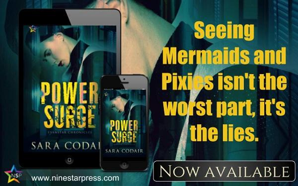 Sara Codair - Power Surge Now Available
