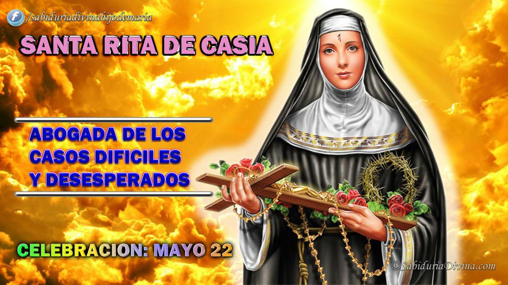 Santa Rita de Casia (Abogada de los imposibles) - cabecera