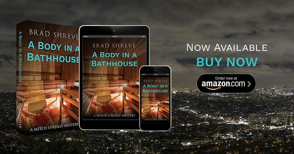 Brad Shreve - A Body In A Bathhouse Banner 1