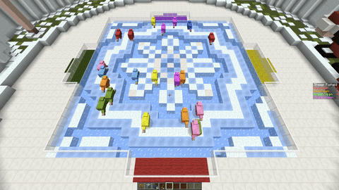 Make No AI mobs walk in a circle - Commands, Command Blocks