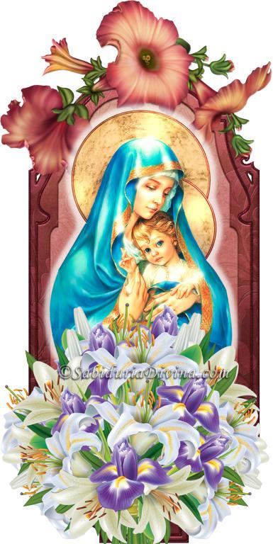 Virgen Maria Madre de Jesus