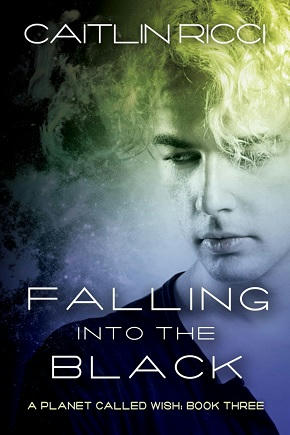 Caitlin Ricci - Falling into the Black Cover