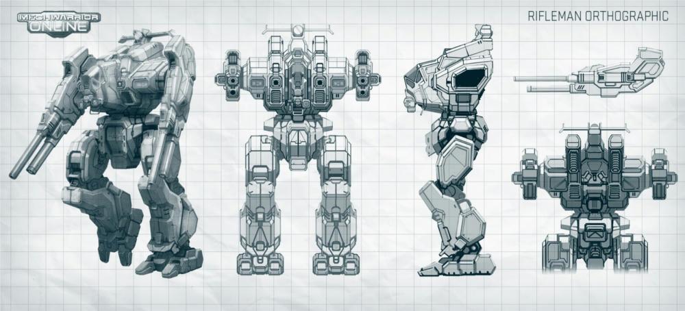 Mwo Rifleman  Build