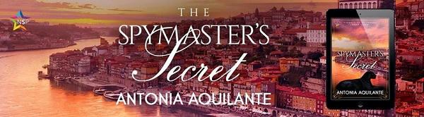 Antonia Aquilante - The Spymaster's Secret NineStar Banner