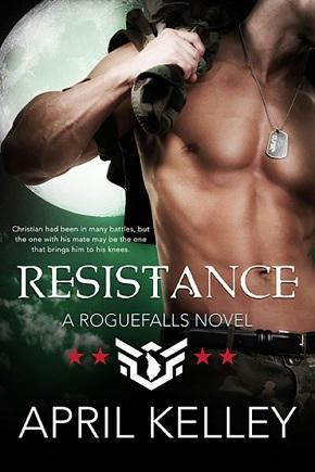 April Kelley - Resistance Cover
