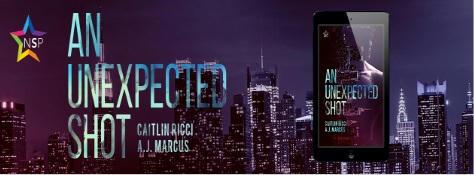 Caitlin Ricci & A.J. Marcus - Unexpected Shot Banner