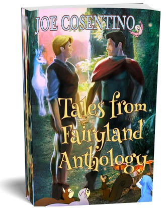 Joe Cosentino - Holiday Tales From Fairyland PaperbackFront 3d Cover