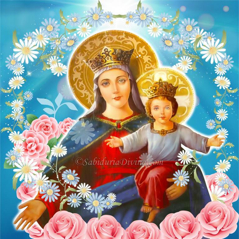 Virgen Maria y Niño Jesús