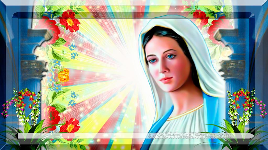 Madre Celestial. Reina del Cielo. María Madre de Jesús