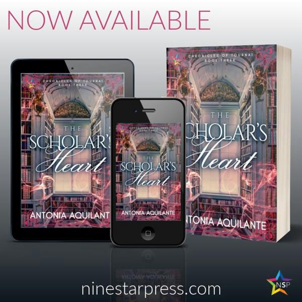 Antonia Aquilante - The Scholar's Heart Now Available