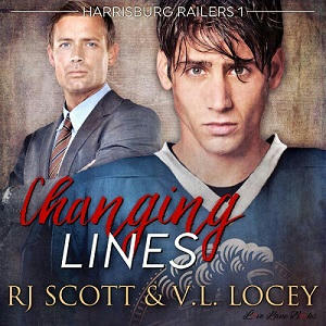 RJ Scott & V.L. Locey - Changing Lines Audio Cover s