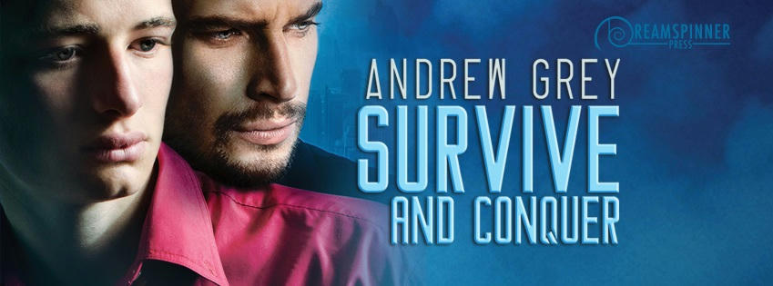 Andrew Grey - Survive and Conquer Banner