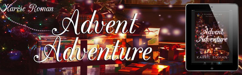 NSP Holiday Stories Advent Adventure by Karrie Roman Banner
